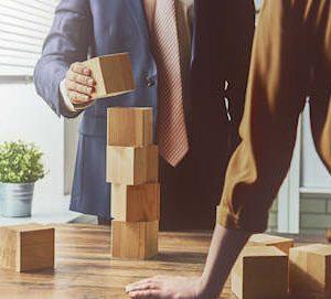 Building blocks to demonstrate procurement